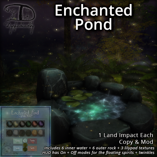 Enchanting~ A pond.