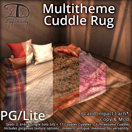 Multitheme Cuddle Rug for FLF!