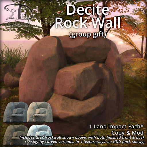 Decite Rock Wall – Group Gift