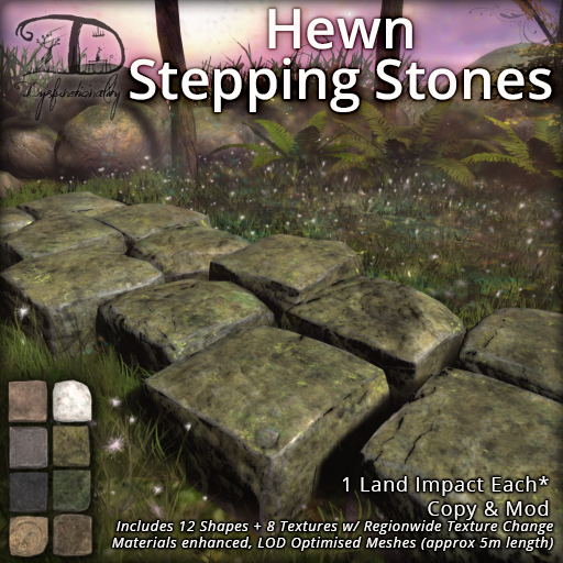 Hewn Stepping Stones