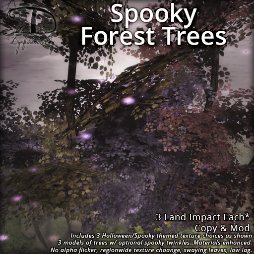 Spooky Forest Trees for Wanderlust Weekend