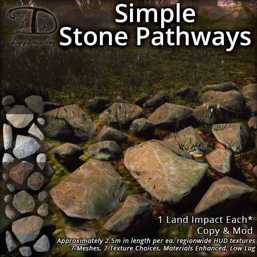 Simple Stone Pathways for FLF