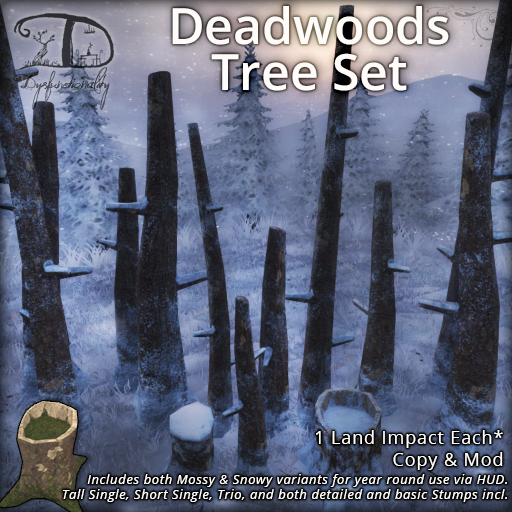 Deadwoods Tree Set for FLF!