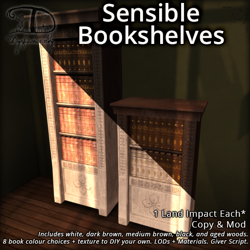 FLF – Sensible Bookshelves